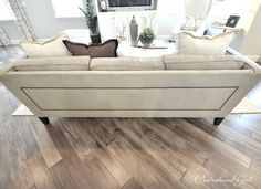 Must have hardwood floors installed on the diagonal! Love!