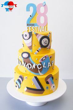 NOS CRÉATIONS - Handiclap 2015 - CAKE RÉVOL - Cake Design - Nantes