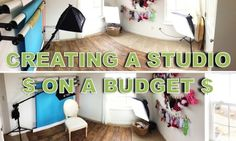 Creating A Children Photography Studio On A Budget - DIY Photography