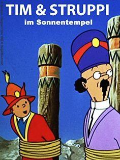 Tim und Struppi im Sonnentempel [dt. Prime Video, Baseball Cards, Videos, Amazon, Tintin, Temples, Sun, Amazons, Riding Habit