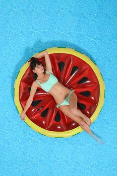 Watermelon Slice Pool Float - Urban Outfitters