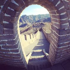 The Great Wall of #China is as jaw-dropping now as it was centuries ago.    Photo courtesy of sallies on Instagram.