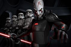 Inquisitor leads the Grand Imperial Army in Star Wars Rebles