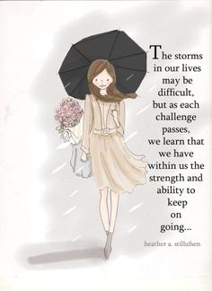 The storms of life!