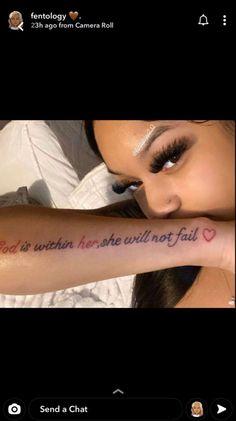 Petite Tattoos, Red Ink Tattoos, Dainty Tattoos, Girly Tattoos, Dream Tattoos, Sexy Tattoos, Girl Neck Tattoos, Spine Tattoos, Mom Tattoos