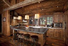 Soapstone Island counter top idea for the kitchen!