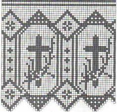 1000 images about bordure per tovaglie altare on for Pizzi uncinetto per tovaglie