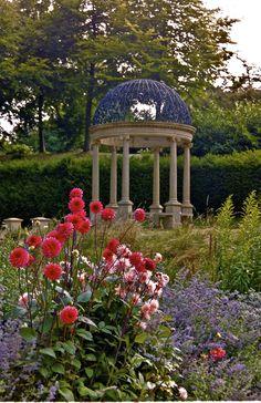 Beautiful Gazebo in English Garden