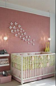girl nursery decor - wall flowers to girl up the jungle animals?