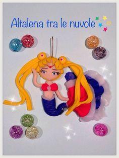 Siren Sailormoon.. #mybestfimo #polymerclay #lovehandmade