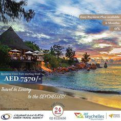 Travel in a luxurious Way to Seychelles with Air Seychelles @air_seychelles just for 7570 AED. Hurry Up. This offer is valid for a limited period. For Booking Call 800200200 --------------------- سافر إلى جزيره سيشل بكل رفاهيه على الدرجه الأعمال فقط ب  درهم. سارع بالحجز فالعرض موجود لفترة محدودة. للحجز اتصل على 800200200. #instauae #instaabudhabi #unitedarabemirates #uae #myabudhabi #inabudhabi #dubailife #mydubai #simplyabudhabi #travel #traveler #seychelles #offer #holidays #summer…