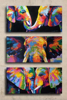 Elephants Paintings