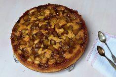 Francouzský koláč s karamelizovanou rebarborou » MlsnáVařečka.cz Pancakes, Pie, Breakfast, Torte, Morning Coffee, Cake, Fruit Cakes, Pancake, Pies