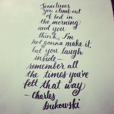 #quotes Charles Bukowski