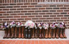 Purple infused Southern wedding: http://www.stylemepretty.com/texas-weddings/fort-worth/2014/06/10/purple-infused-southern-wedding/ | Photography: http://www.avesphotographicdesign.com/