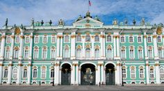 Winter Palace, St. Petersburg, Russia.