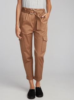 Paper bag cargo pant | Twik | Shop Women's Casual Pants Online | Simons