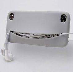 The Feed Me iPhone 4S Case @belmontmedina it comes in orange, too