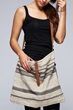 """This bag """"tote""""ally has enough room for all those on-the-go needs."""