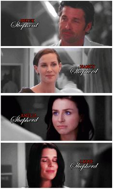 Grey's Anatomy - Derek and sisters.