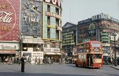 Piccadilly Circus, London 1953