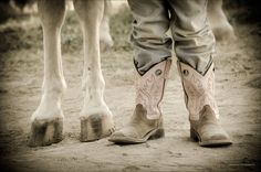 western horse photography - Google Search - reminds me of the new boots i got every year when i was a little girl. i now know my parents didn't have a lot to spend, so they were even more special.