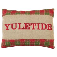 Robert Yuletide Filled Pillow 14x18