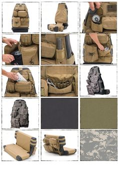 Awesome tacticool seat 'covers'