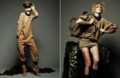 Heehee, love the jumpsuit and hat in the first pic