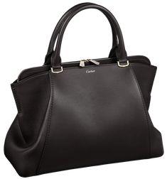 Black Handbag Cartier PNG Clip Art