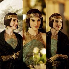 Downton Abbey Season 6 . Lady Mary ..