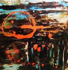 Anthony E. Boone Art | GALAXY, 36x36x1.5 | SOLD|