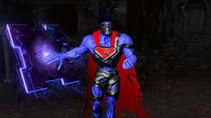 Superman, once the hero of Metropolis, now wanders it as the maddened Phantom King. Nightmare Supermanis the latest Champion to joinInfinite Crisis, the free-to-play MOBA from Turbine based in th...