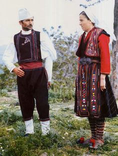 FolkCostume&Embroidery: Overview of the Folk Costumes of Europe, Albania