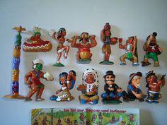 Kinder Surprise Set  Trappers & Indians Wild by KinderSurpriseToys