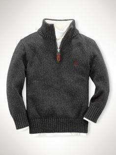 Mockneck Sweater - RalphLauren.com