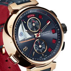 La Cote des Montres : Photo - Louis Vuitton Tambour Spin Time Régate Only Watch 2013