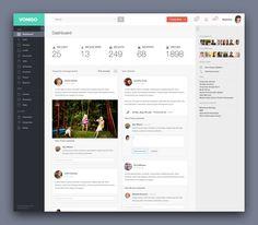 vonigo | Vonigo - Dashboard UI Design