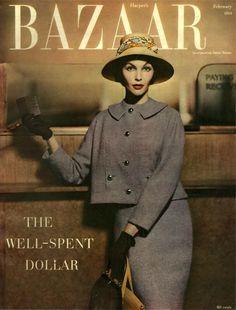 Harper's Bazaar February 1954