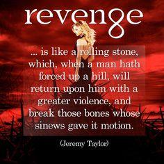 Revenge...
