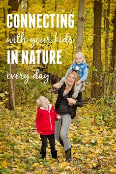 Too much time inside and the kids will be bouncing off the walls! So get outside and connect in nature with these great tips and activity suggestions.
