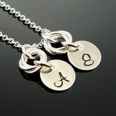 Chainmail Flower Necklace  Sterling Silver by prolifiquejewelry, $48.00