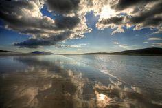 Photo of the day by @boofeydog. Luskentyre Beach on the Isle of Harris, Scotland  Check => http://www.earth-pics.com/