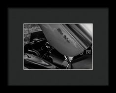 1960 Ford Deluxe Framed Print featuring the photograph In Black And White by Marnie Patchett