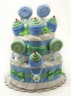 Diaper Cakes and Baby Shower Gifts | Bountiful Baby Cakes and Bouquets