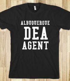 Supermarket: Albuquerque DEA Agent from Glamfoxx Shirts