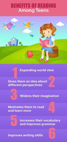 Benefits of Reading Among Teens.