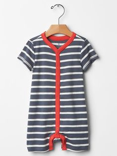 Colorblock stripe one-piece