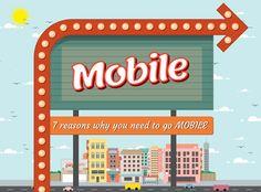 #Инфографика. 5 причин, почему объём рекламы на мобильных приборах постоянно увеличивается в том время, как в медиа в целом уменьшается. (Из ежедневной новостной ленты страницы ProfySpace-социальный бизнес – https://www.facebook.com/ProfySpace)