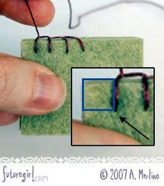 Sewing Blankets Tutorial for using the blanket stitch when hand sewing felt- Great! Sewing Hacks, Sewing Tutorials, Sewing Crafts, Sewing Projects, Tutorial Sewing, Tutorial Crochet, Wool Embroidery, Embroidery Stitches, Sewing Stitches